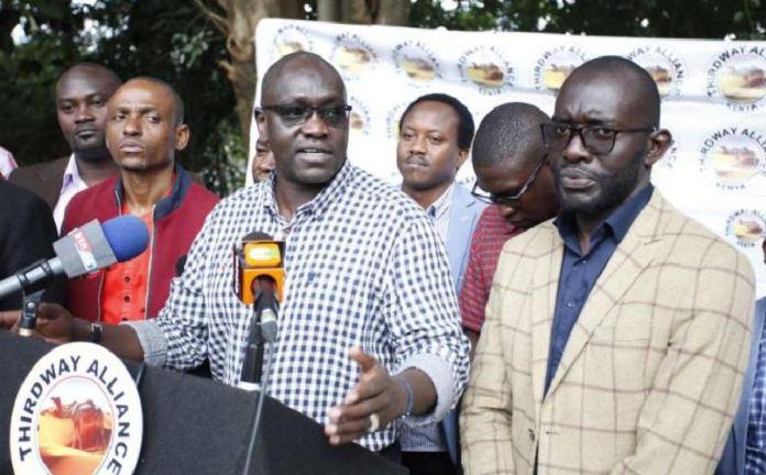 Breaking News : Thirdway alliance leader Ekuru Aukot arrested