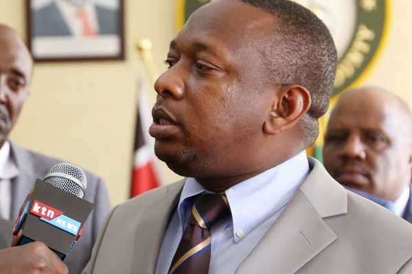 Gov. Sonko complains against sharing 2 latrines with over 7000 inmates