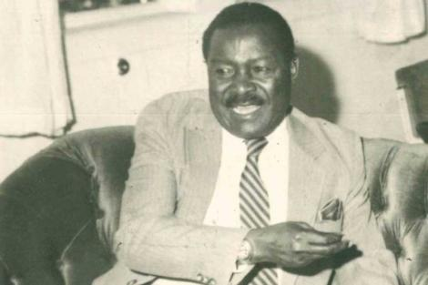 The Late Moses Mudavadi