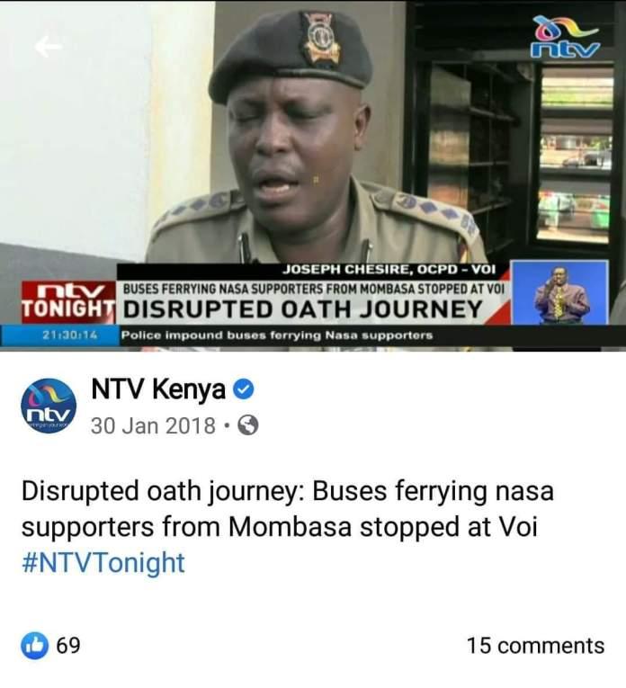 Why Raila can't endorse NASA principals, may endorse Gov. Joho