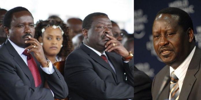 Hon Kalonzo threatens to punish PM Raila in 2022