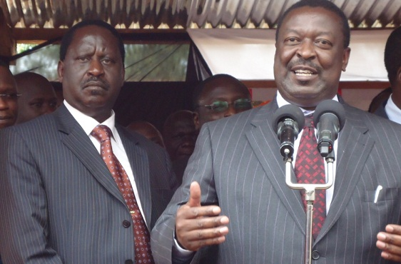 """""""Please pay our debts by endorsing us"""", Mudavadi pleads with Raila"""