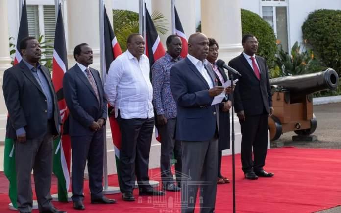 Uhuru, Raila, Mudavadi thanks county assemblies for approving BBI bill
