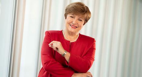 Ms. Kristalina Georgieva, Managing Director of the International Monetary Fund (IMF).