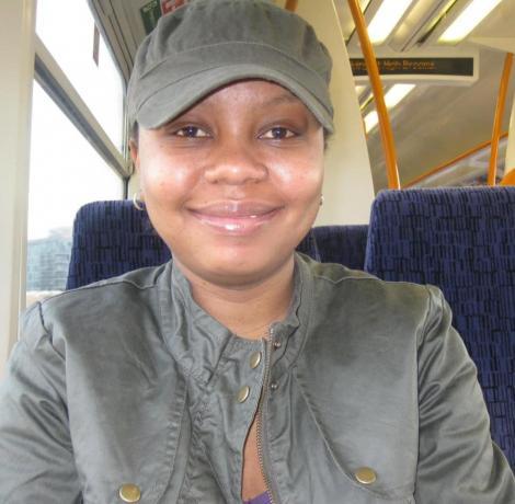 The late BBC Administrative Manager Lynn Kariuki