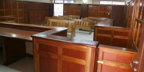 An Empty Court Room