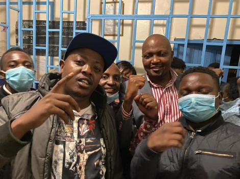 Gatundu MP Moses Kuria has been arrested in a night raid on the evening of Monday, April 12, 2021.