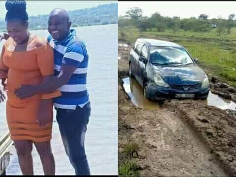 Man kills girlfriend, dumps her inside his car in the middle of a road