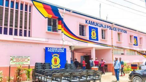 Entrance into Kamukunji Police Station