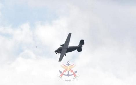 The C-145 Skytruck aircraft commissioned by KDF on Tuesday, April 21, 2021