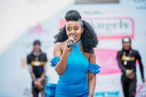 Popular Kenyan musician Nadia Mukami