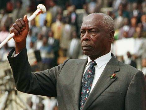 Former President Daniel Moi