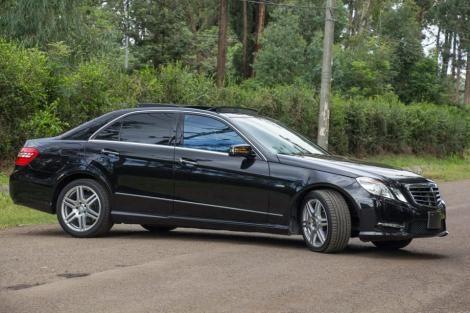 A photo of a Mercedes Benz E250