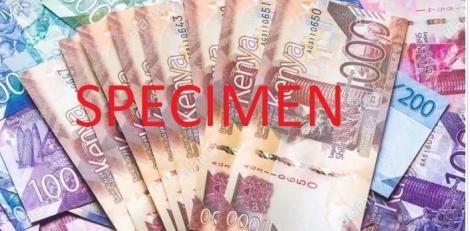 Kenyan Currency notes.