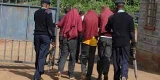 10 KCSE candidates from Anestar Bahati Boys were arrested after they were caught at night in a girls school on April 8