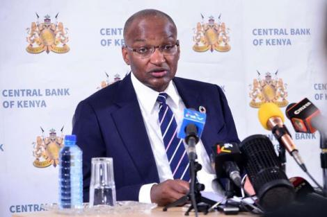 Central Bank of Kenya Governor Patrick Njoroge during a press conference after the Monetary Policy Committee meeting that reviewed the outcome of its policy decisions and recent economic developments on January 28, 2020.