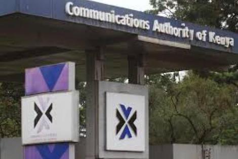 Communications Authority of Kenya (CAK) headquarters.