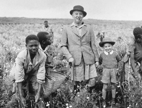 A photo of a Jewish refugee who settled in Kenya in the 1930s.