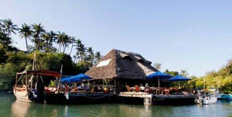 The Moorings Restaurant on the North of Mombasa along Mtwapa Creek