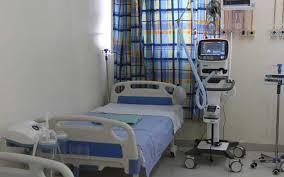 A hospital ward in Kenya