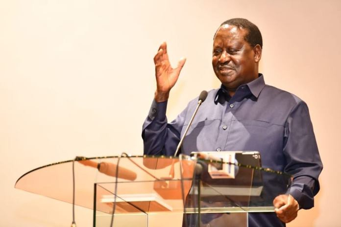 Raila warns Uhuru against misusing the police during elections