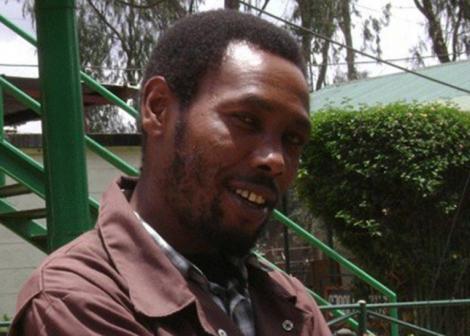 A file image of Tahidi High actor Kamau Kinuthia (Omosh)