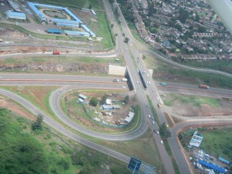 A picture of the Langata Road, Southern Bypass Interchange.