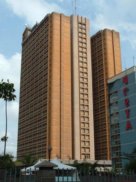 Nyayo House building along Kenyatta Avenue in Nairobi