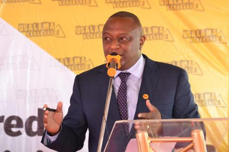 National Transport and Safety Authority (NTSA) Director-General George Njao.