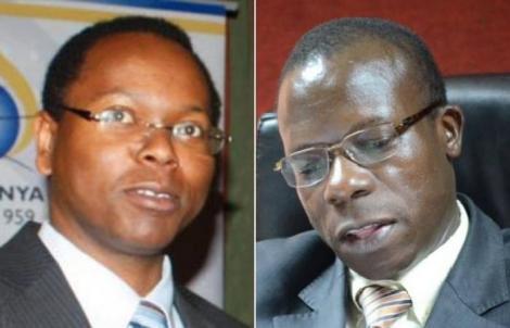 High Court Judges Joel Ngungi (left) and George Odunga.