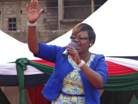 Kiambu Woman Rep Gathoni wa Muchomba during a past event