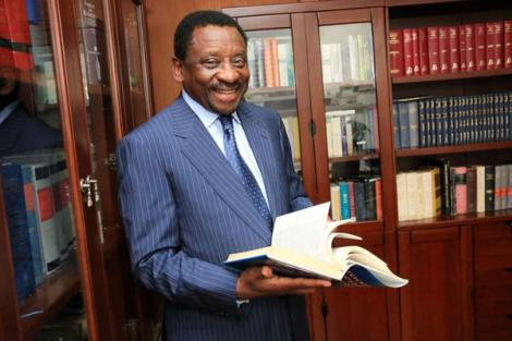 Siaya senator and lawyer James Orengo during an interview at his office in Nairobi on May 19, 2016..jpg