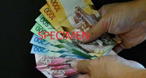 File image of Kenyan bank notes