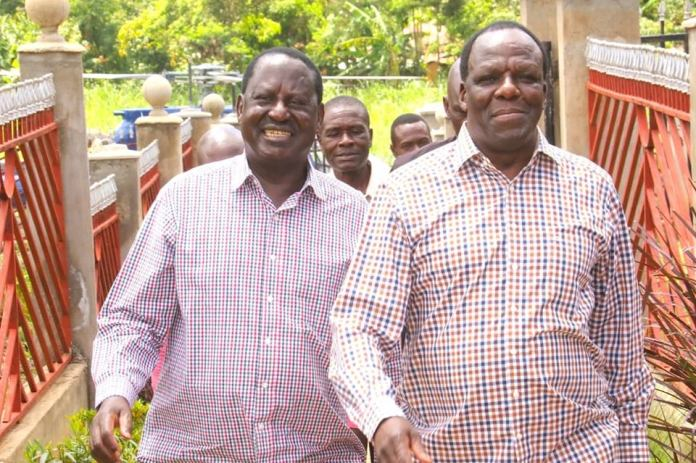 """""""I cant compete against Raila for presidency"""", Oparanya says"""