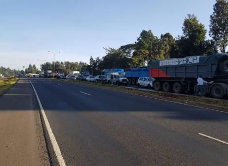 Traffic along the Southern Bypass on June 30, 2020.