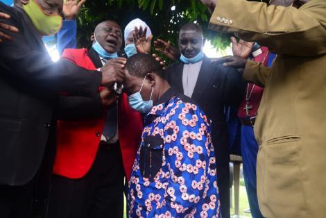 Clergy Praying for Muturi after launching His Presidential Bid