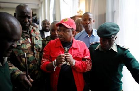 Former Nairobi Governor Mike Sonko in court after he was arrested in 2019