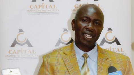 Undated image of Capital Markets Authority chief executive Wycliffe Shamiah