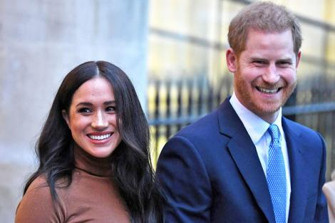 Photo of the Duke and Duchess of Sussex Prince Harry and Meghan Markle taken on June 19, 2020.