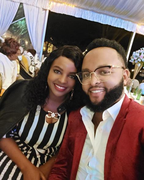 Muthoni Wa Mukiri and Her Husband Isaac