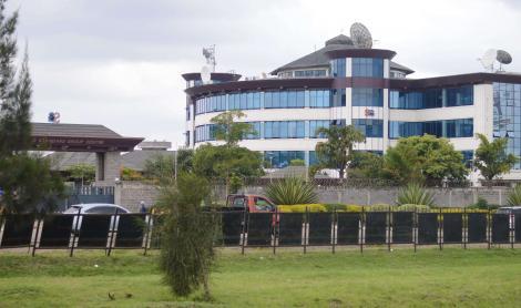 Standard Group headquarters along Mombasa Road, Nairobi