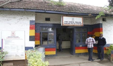 Undated image of Pangani Police Station