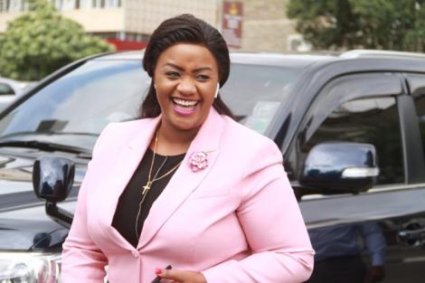 Laikipia Woman Rep Cate Waruguru