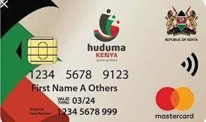 Sample of the Huduma Namba Card