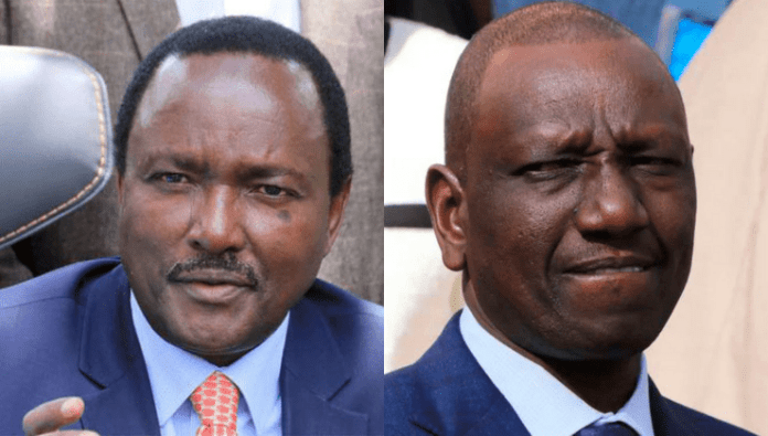 """"""" William Ruto will be my opposition leader in 2022″, Kalonzo declares"""
