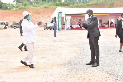 William Ruto and Yoweri Museveni