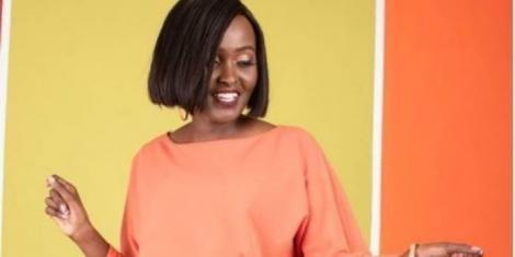 Media personality Tamima Ibrahim poses for a photo