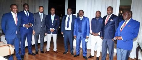Photo of a section of the elected leaders of One Kenya Alliance's respective parties taken on June 30, 2021.