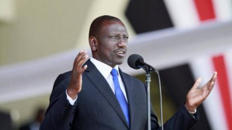 Deputy President William Ruto.