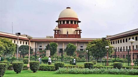 Indian Supreme Court Building in New Delhi.
